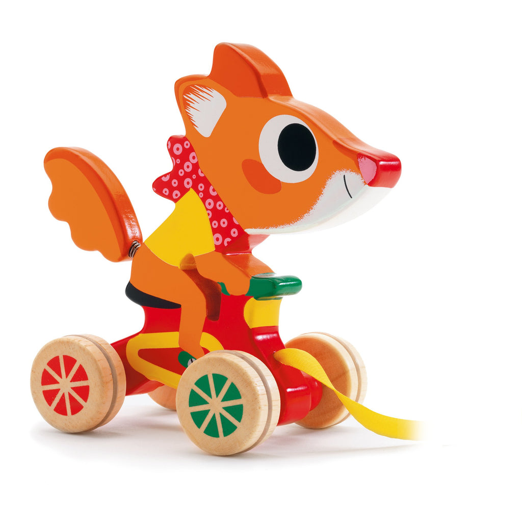 Scouic Fox Pull Along Toy