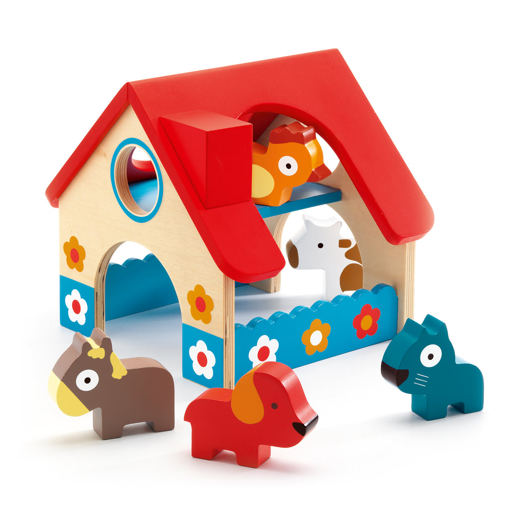Djeco Wooden Mini Farm