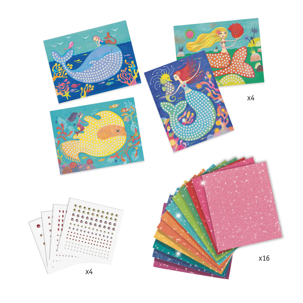 The Mermaids' Song Mosaic Kit by Djeco
