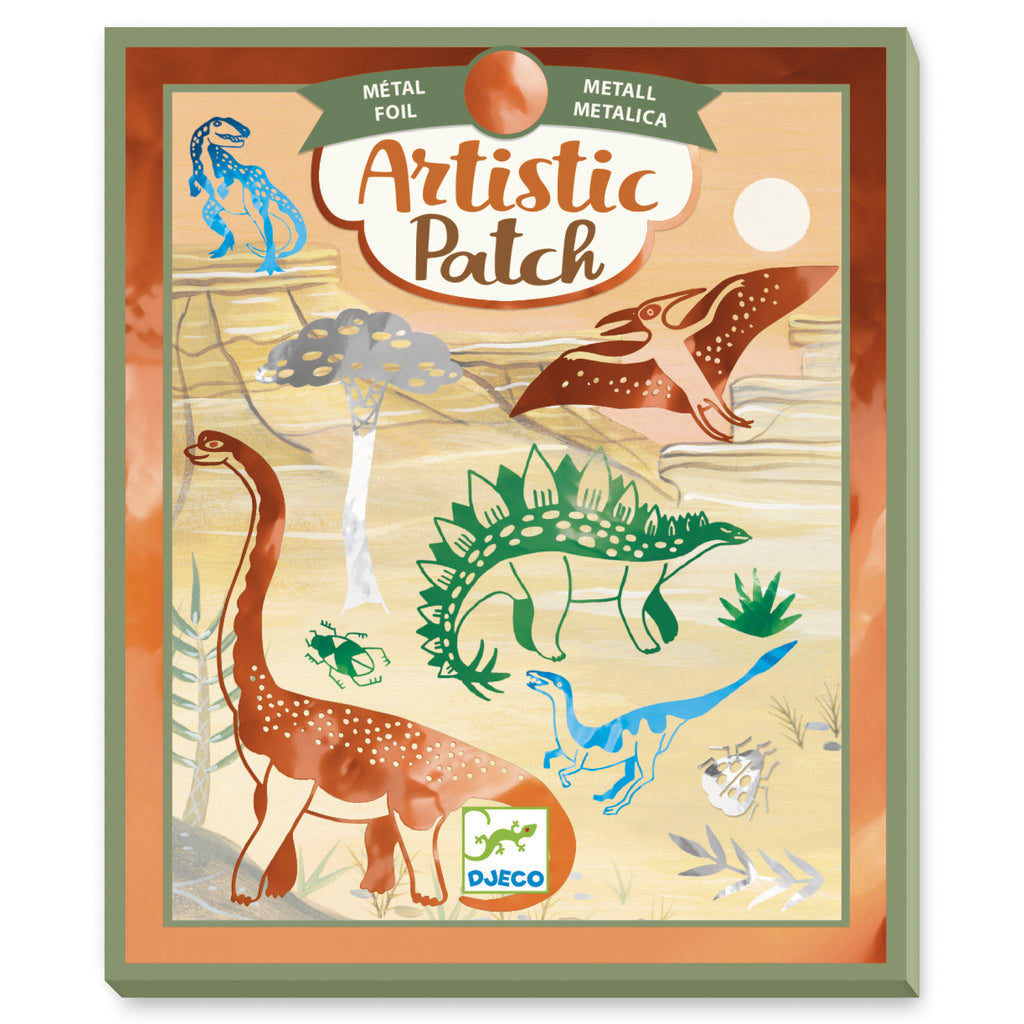 Artistic Patch Metal - Dinosaurs
