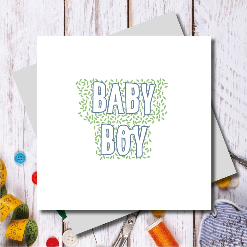 Bowden Baby Boy Card