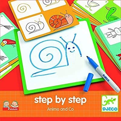 Learn To Draw - Djeco Step By Step Animo & Co