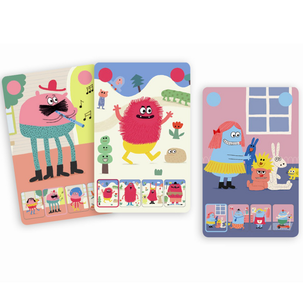 Mini Monster - Djeco Card Game