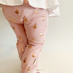 Pink Flamingos Leggings