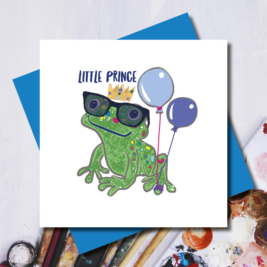 Little Prince Birthday Card
