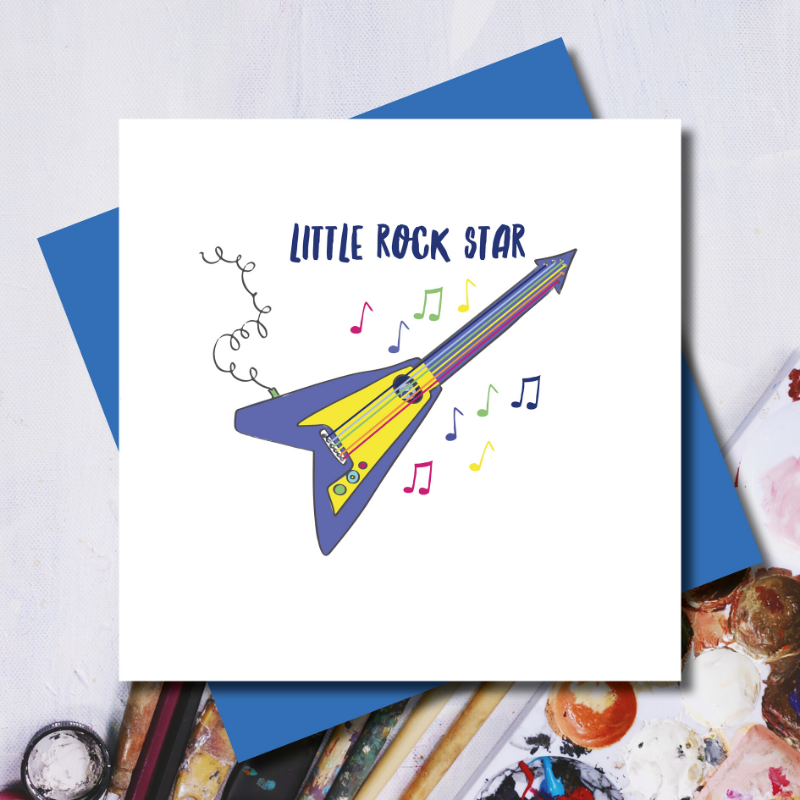 Little Rock Star Card