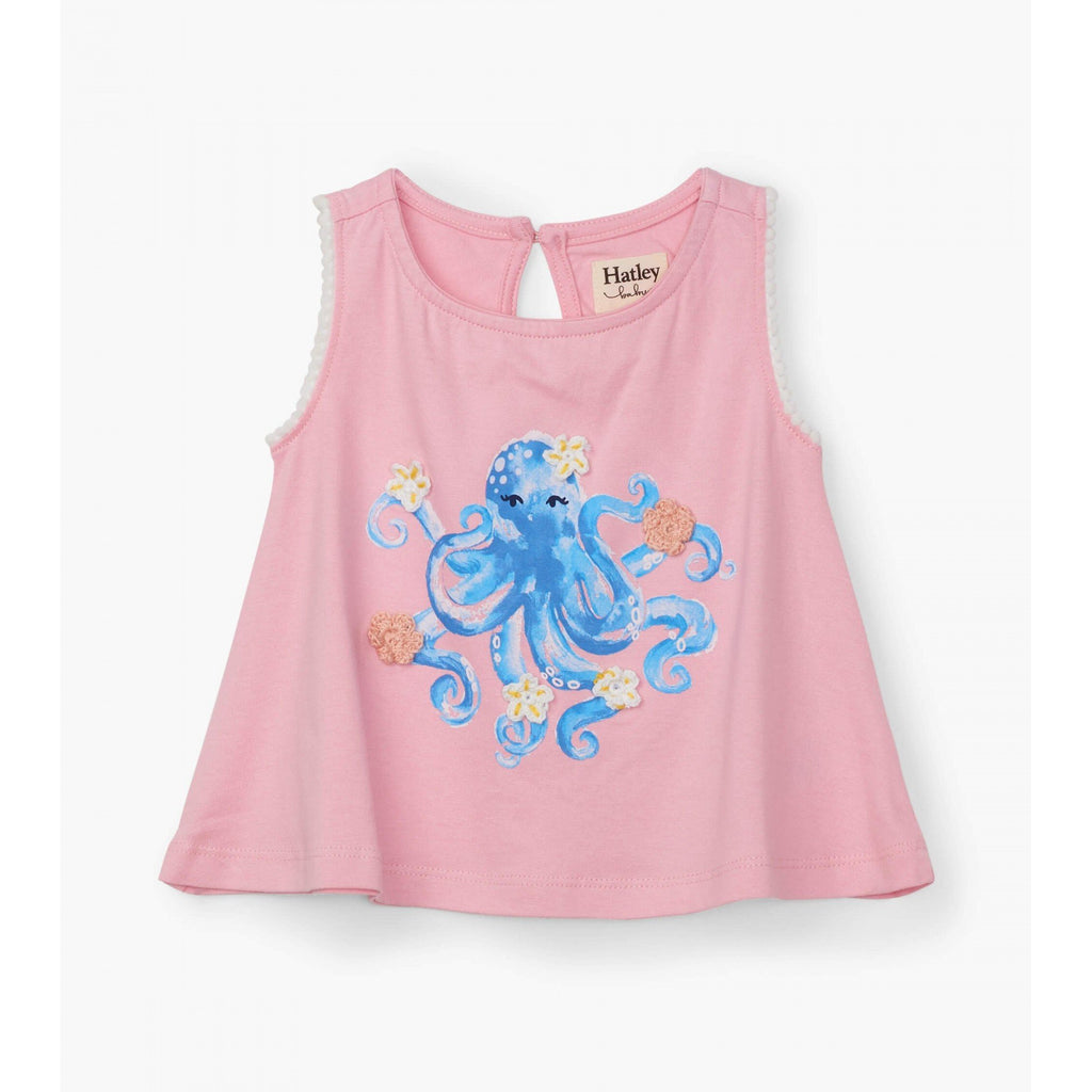 Pretty Octopus Baby Tank Top