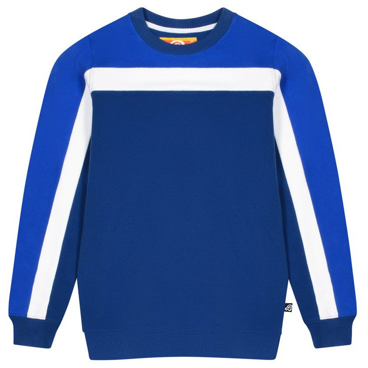 Panel Sweatshirt - Twilight Blue / Dazzling Blue