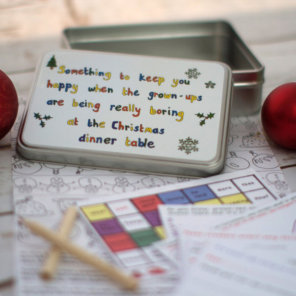 Something to Keep You Happy - Christmas Activity Pack for Children
