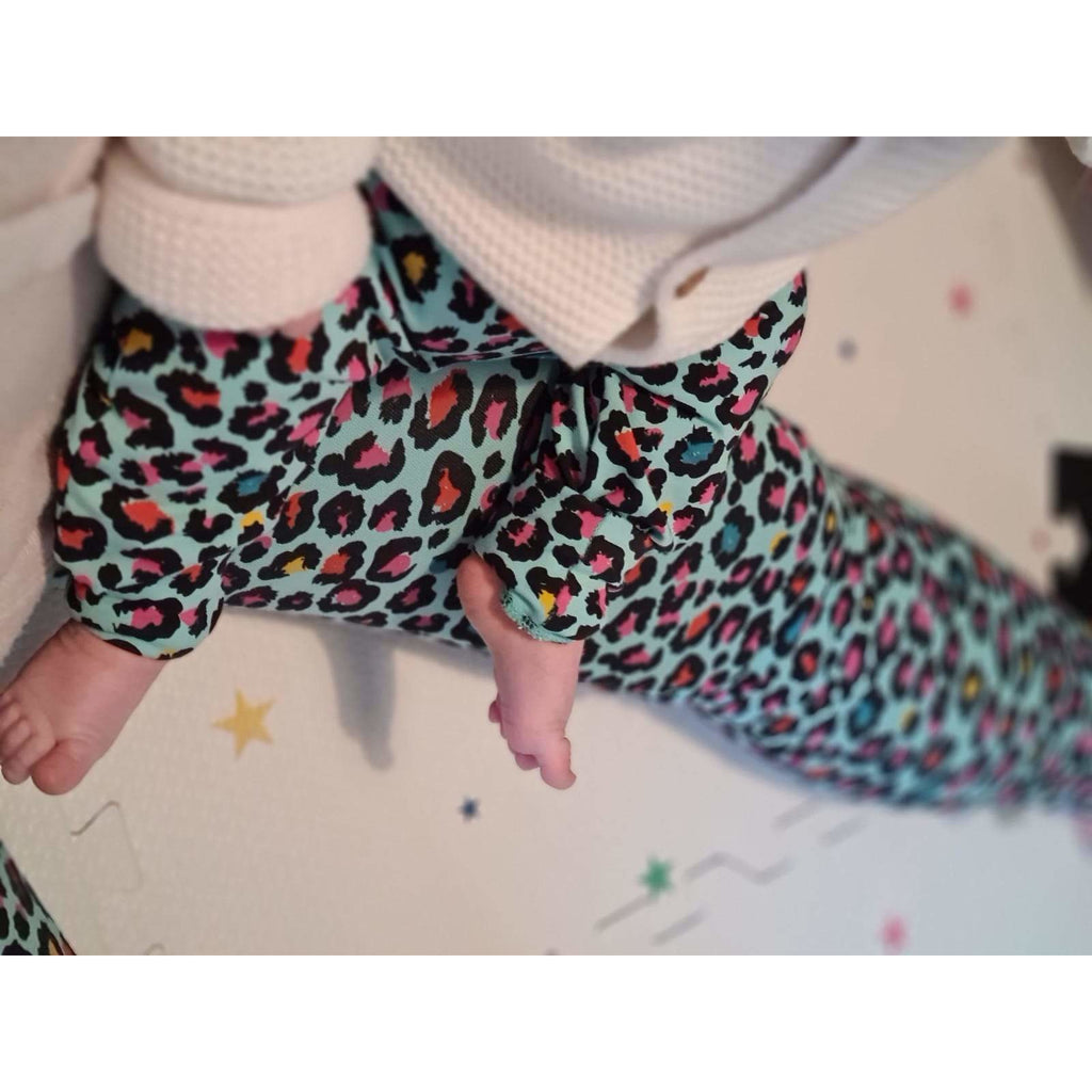 Adult Tutti Fruitti Leopard Spot Leggings