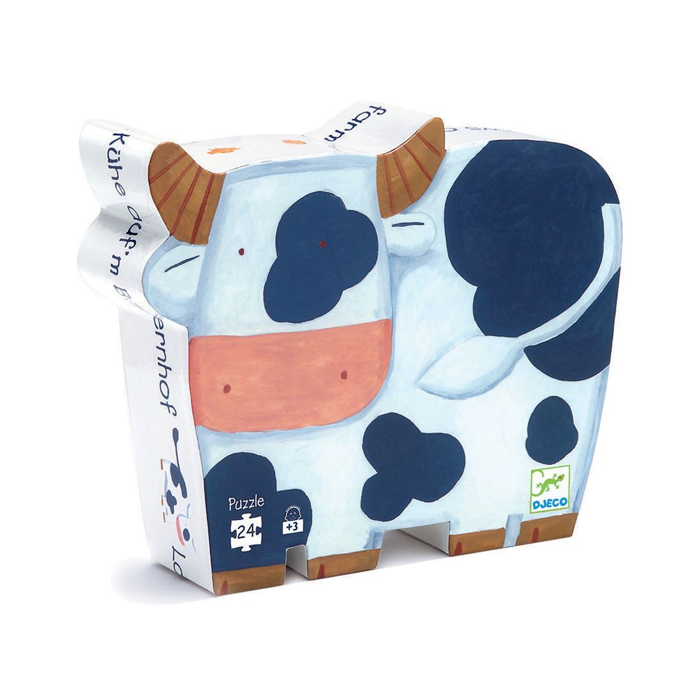 Djeco Puzzle - The Cow's On The Farm