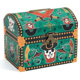 Djeco Money Box - Pirates