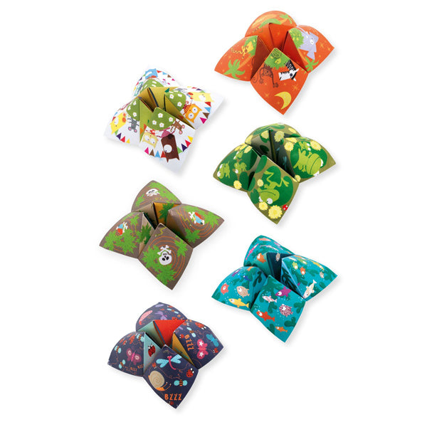 Animal Fortune Tellers Origami Set