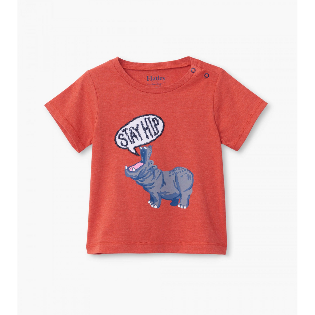 Hip Hippo Baby Graphic Tee