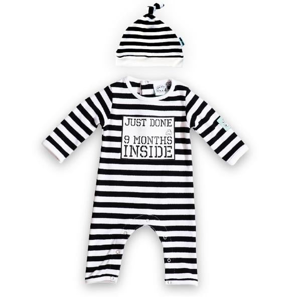 Just done 9 months inside® Baby Grow White Bundle Set