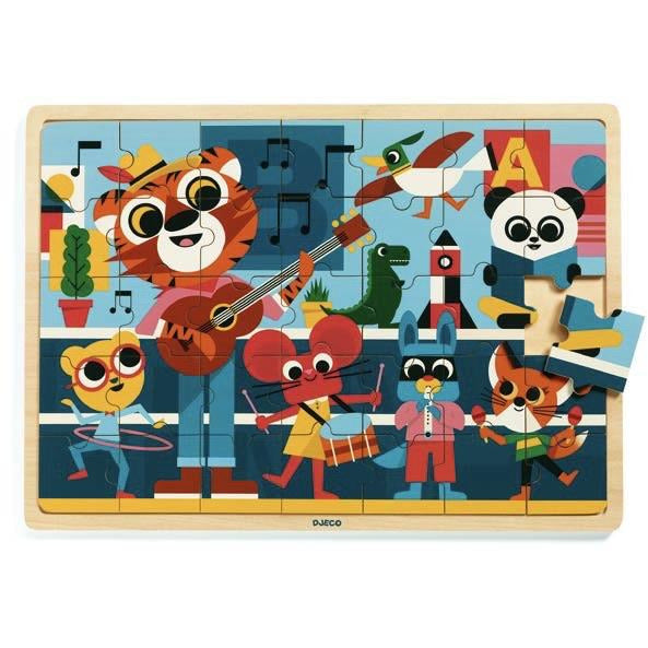 Music Wooden Puzzle