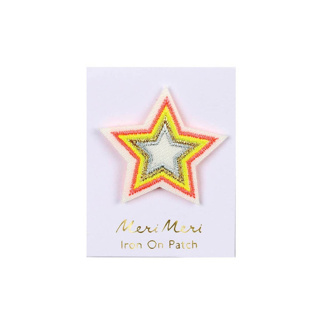 Neon Star Patch