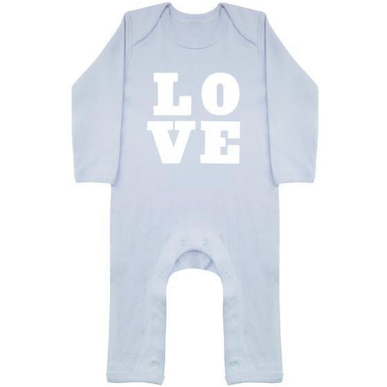 Love Baby Blue Playsuit