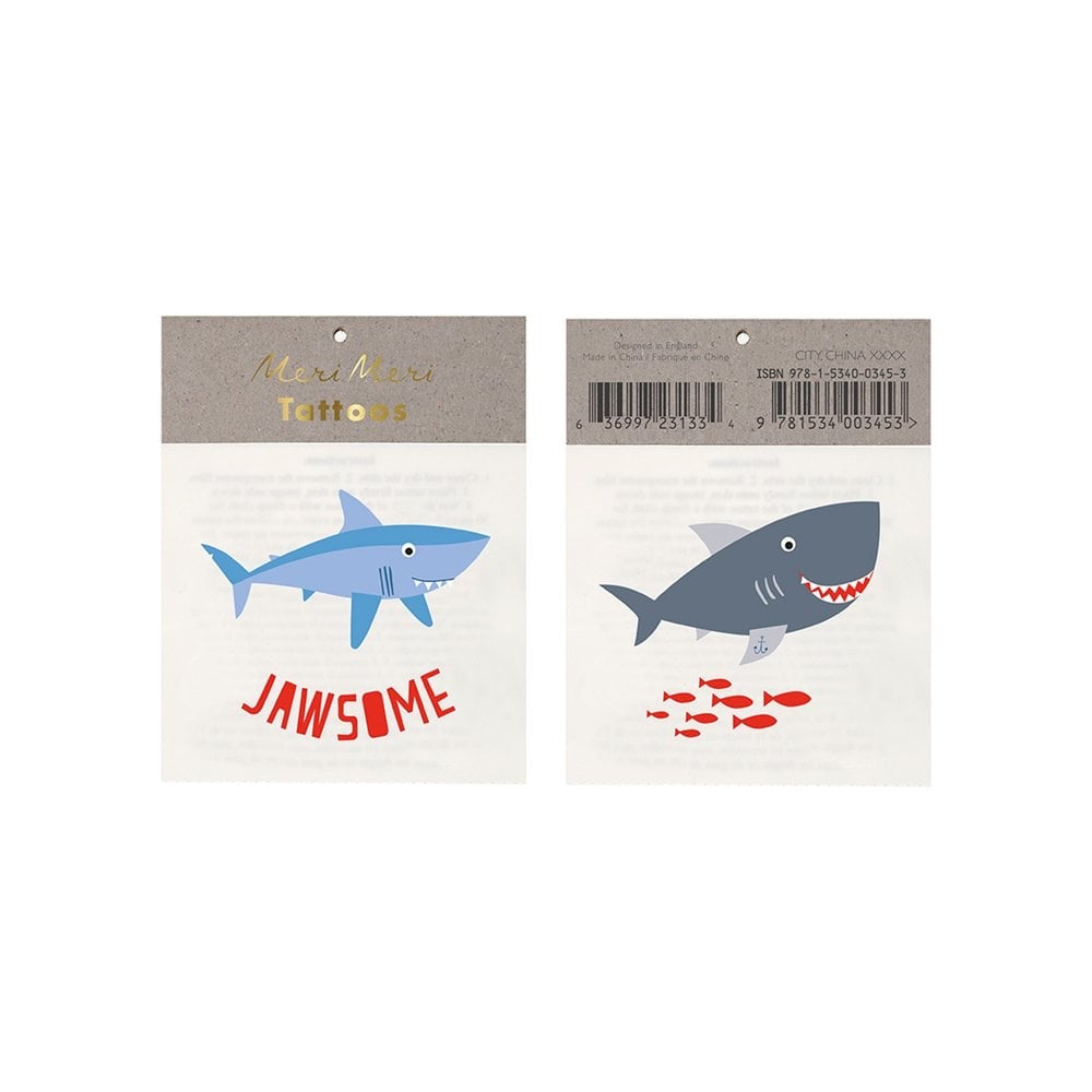 Jawsome Small Tattoos