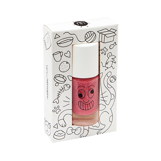 Kitty (Pink Glitter) - nailmatic® kids - water based nail polish