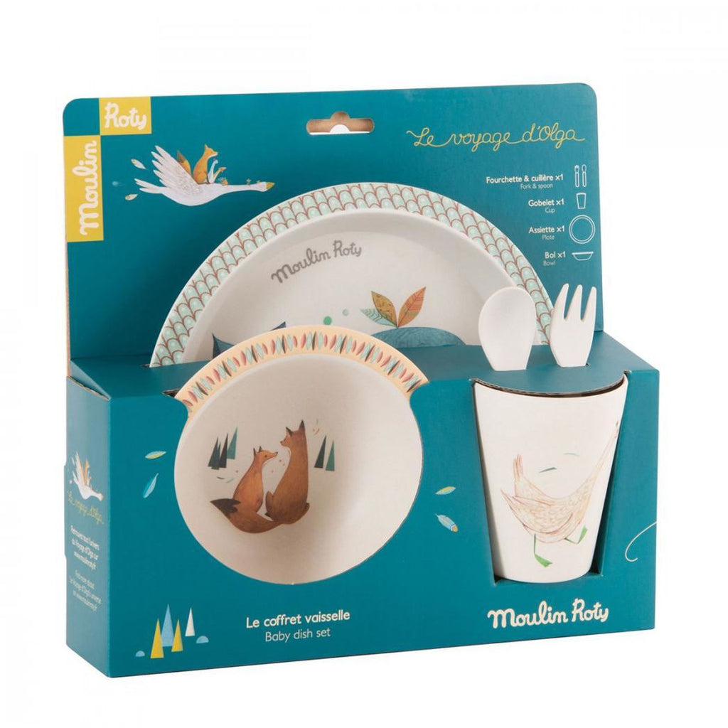 Baby Bamboo Dinner Set - Le Voyage D'Olga
