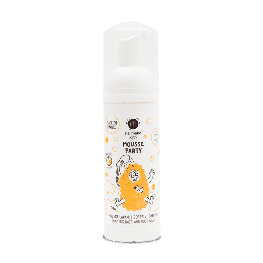 Mousse party - Apricot Hair & Body Foam