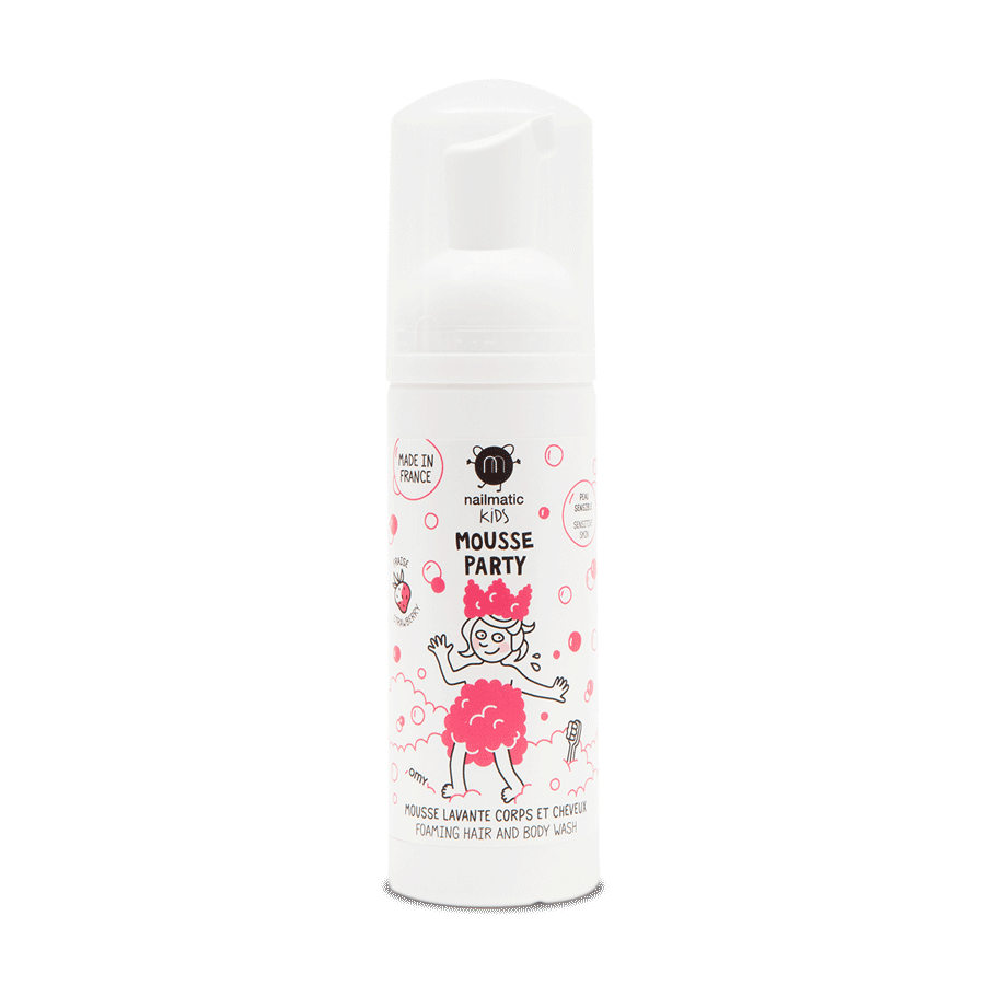 Mousse party - Strawberry Hair & Body Foam
