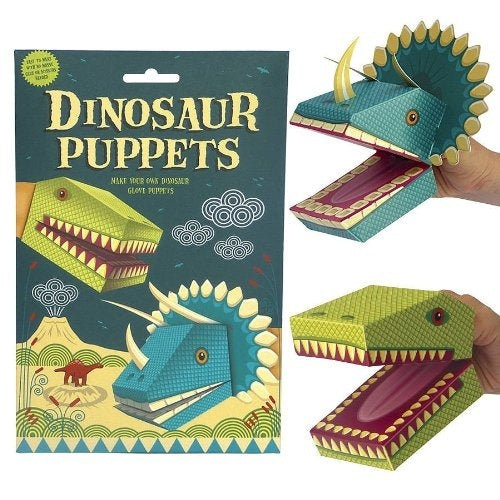 Create Your Dinosaur Puppets