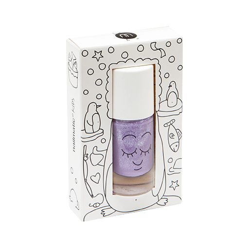 Piglou (Purple Glitter) - nailmatic® kids - water based nail polish