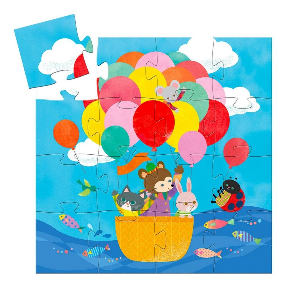 Djeco The Hot Air Balloon Puzzle