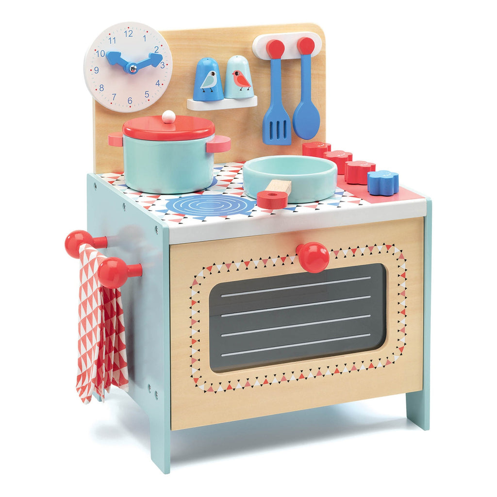 Blue Cooker Kitchen Set by Djeco