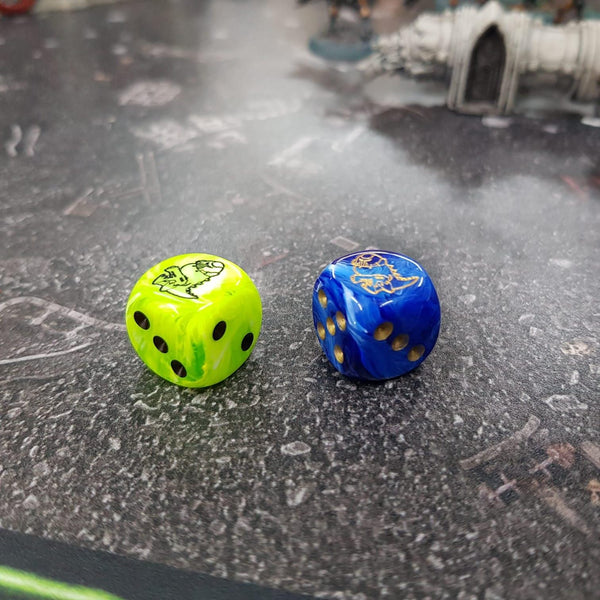 The Quest for the Boltersaurus Dice!