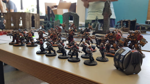 "Life Takers Assault Force ""Bloodwing"" - Renzus' Chaos Space Marines"