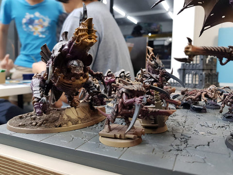 """The Grasping Shadow"" - Nic's Tyranids"