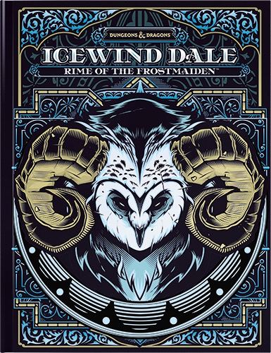 Icewind Dale: Rime of the Frostmaiden Alternate Art Cover