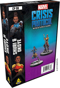 Marvel Crisis Protocol Shuri and Okoye Expansion