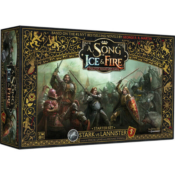 A Song of Ice & Fire Stark vs Lannister Core Set