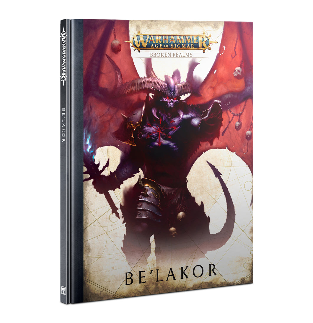 BROKEN REALMS: BE'LAKOR (HB) (ENGLISH)