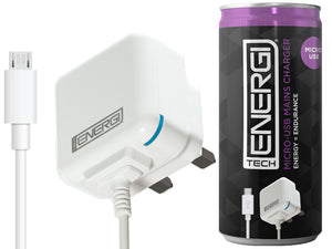 Tech Energi Micro-USB Mains Charger