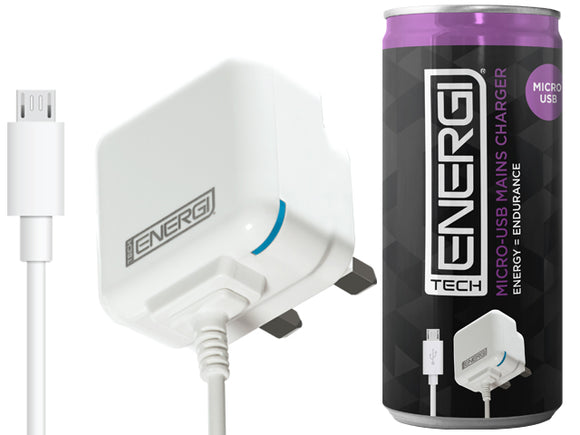 Tech Energi® Micro-USB Mains Charger