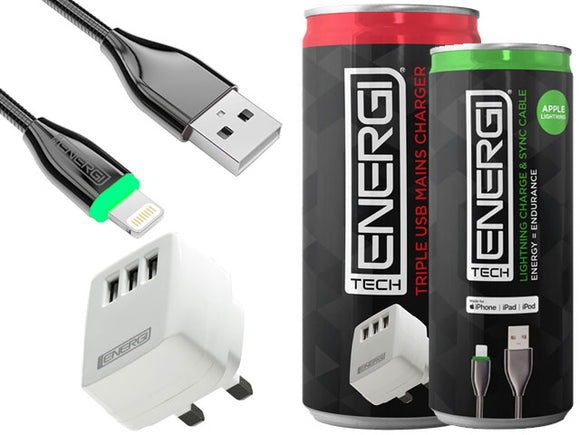 Tech Energi® Apple Pack