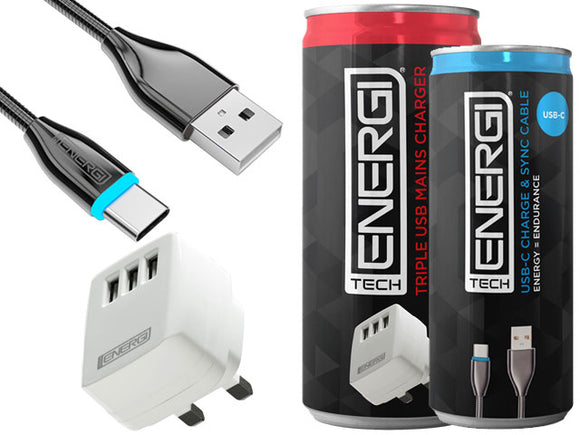 Tech Energi® Apple/Android Pack