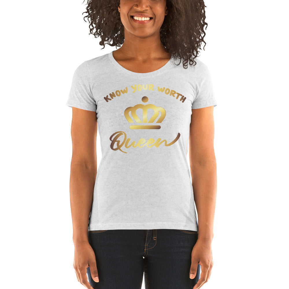 "Ladies' Short Sleeve T-Shirt ""Queen"""