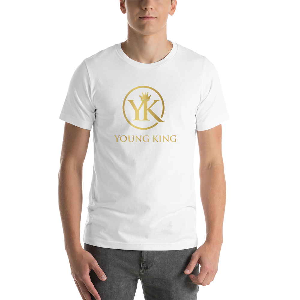 "Youth Short-Sleeve T-Shirt ""Young King"""