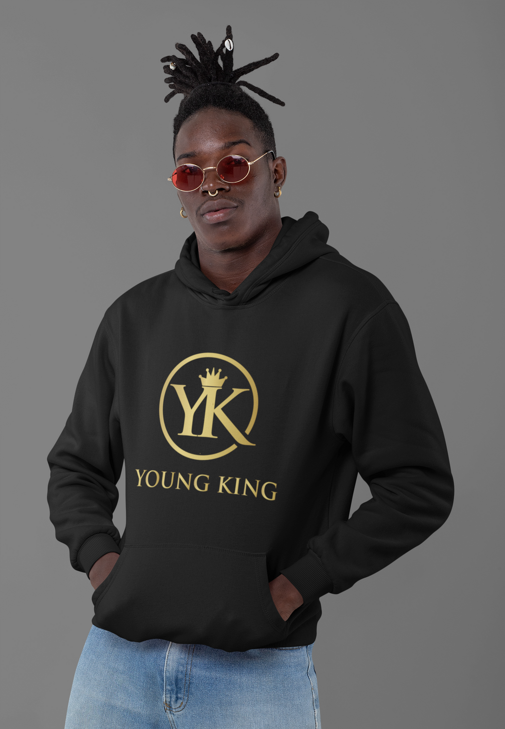 "Men's ""Young King"" Hoodie"""