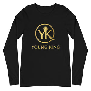 "Men's ""Young King"" Long Sleeve Tee"