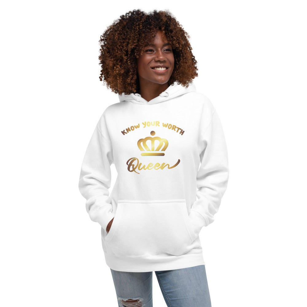 "Women's ""Know Your Worth"" Hoodie"