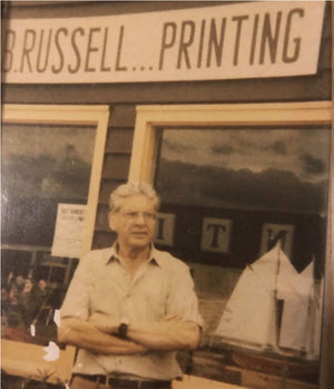 The Inspiration for Archimedes' Love of Printing and Poetry: D.B. Russell
