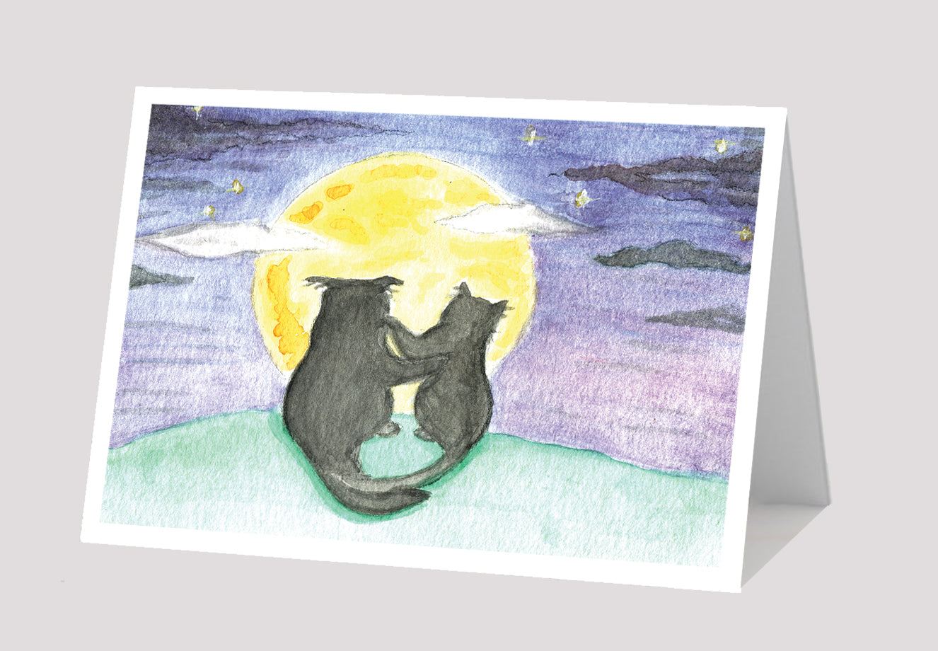 """Moonlit Love"" Card"