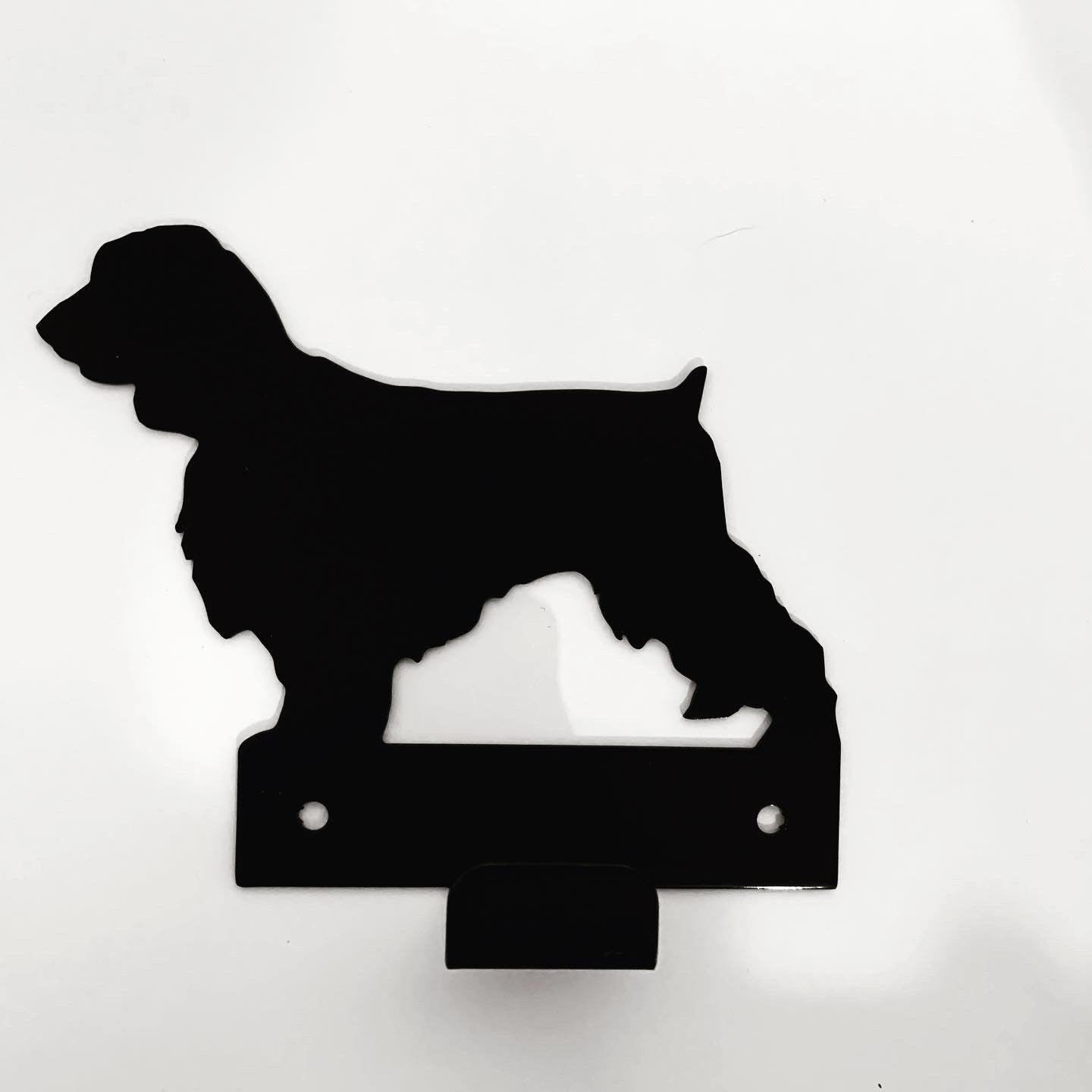 Wall Mounted Field Spaniel Lead Holder